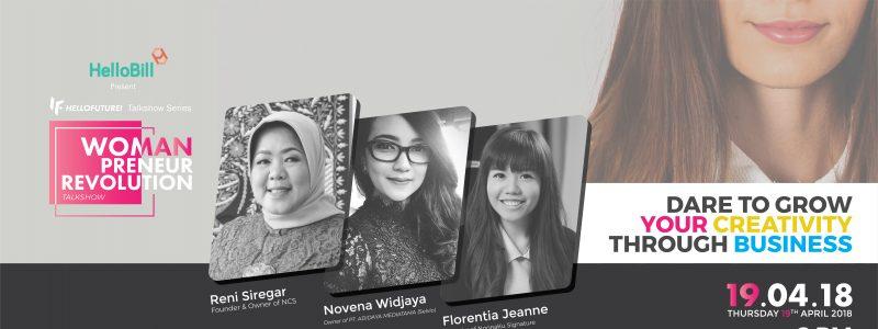 WPR2018: Talkshow Bertema Wanita dan Bisnis